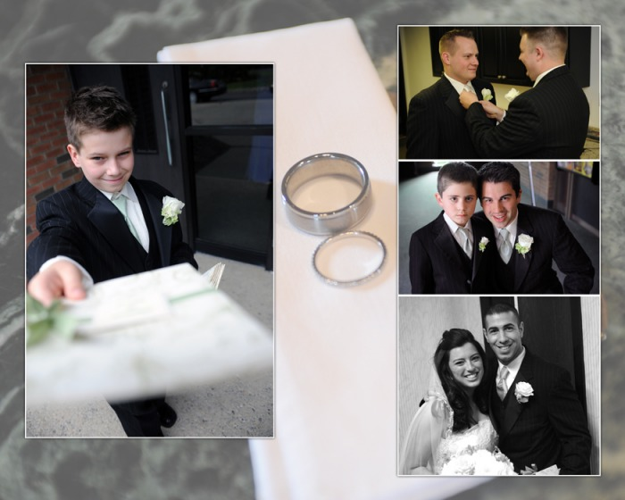 Wedding book design templates album layout leather albums.